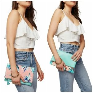 Rachel Pally Paradise Reversible Clutch Bag Purse